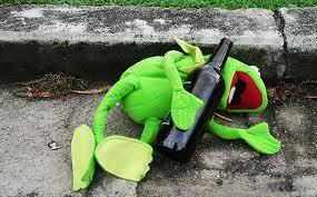 Kermit Drunk