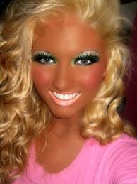 bad make up