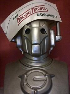 Krispy Kreme Cyberman