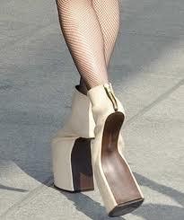 stupid high heels