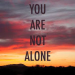 You Do Not Have To Be Alone With MS