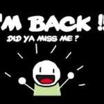 The Teenager Returns …